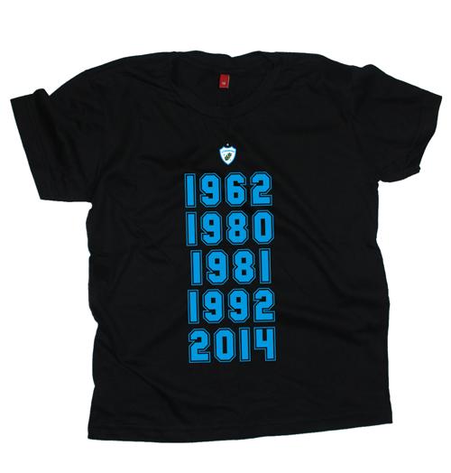 Camiseta Infantil Glórias do Tubarão