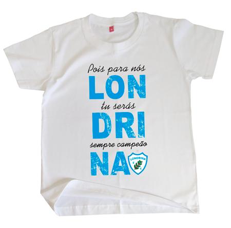 Camiseta Infantil Londrina Campeão