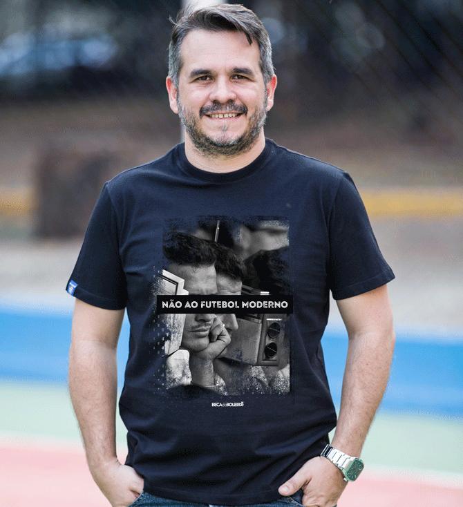 Camiseta Não ao Futebol Moderno