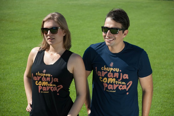 Camiseta Regata Feminina Chupou Laranja Com Quem, Parça?