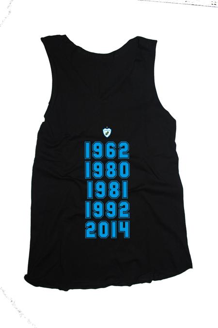 Camiseta Regata Feminina Glórias do Tubarão