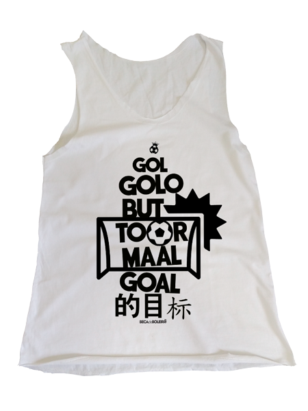 Camiseta Regata Feminina Gol: Linguagem Universal