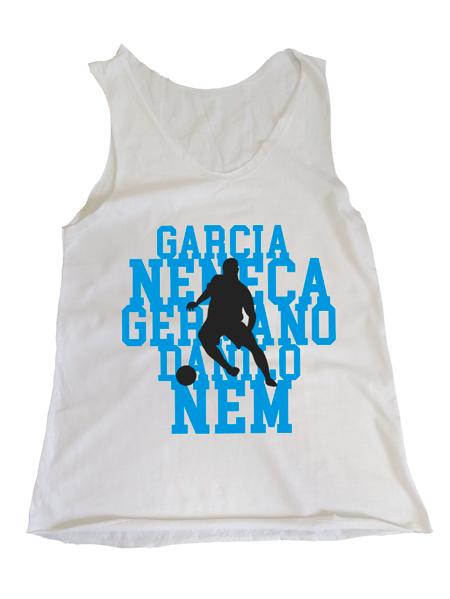Camiseta Regata Feminina Ídolos Alvicelestes