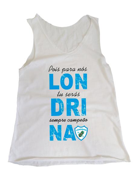 Camiseta Regata Feminina Londrina Campeão