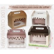 10 caixas maleta (15cm de altura) para ovos de colher - Duplo 250g