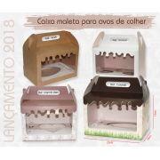 10 caixas maleta (15cm de altura) para ovos de colher TRIPLO 100g