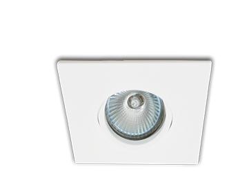 Spot Interlight Dicroica 0076-GZ(branco liso)