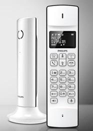 Telefone sem fio LINEA Philips Branco