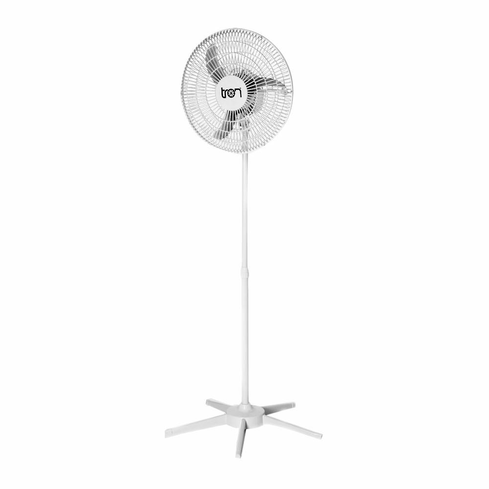 Ventilador TRON 50cm Pedestal Branco