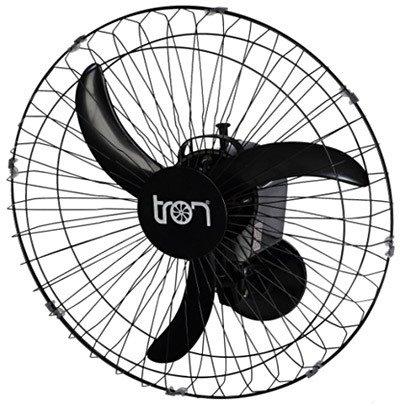 Ventilador TRON 60cm preto Parede
