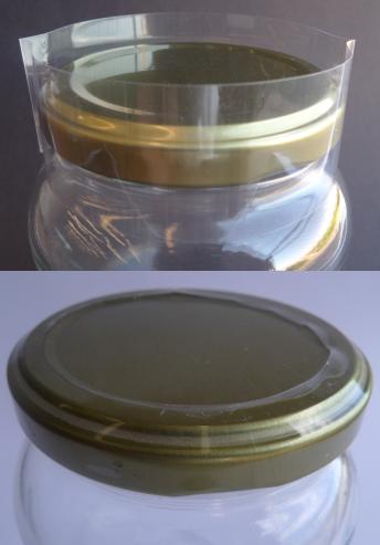 Lacre Termoencolhível 58mm Incolor - Kit com 5000 Unidades