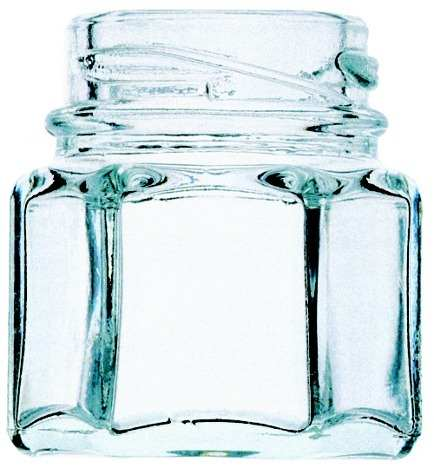 100 Potes De Vidro Para Lembrancinhas Sextavado 40ml