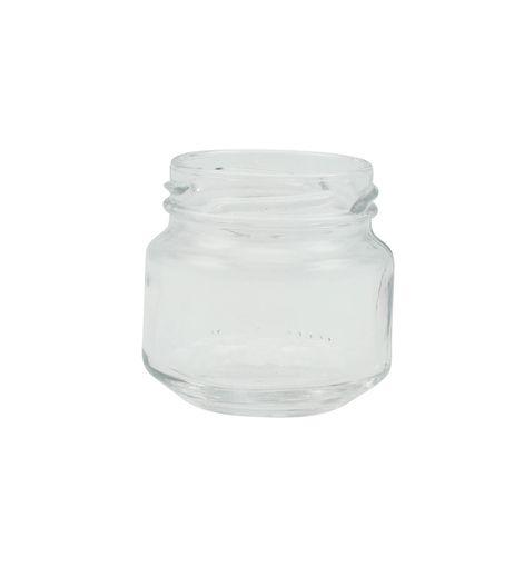 Pote de Vidro Papinha 120ml - Caixa com 48 unidades