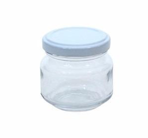 Pote de Vidro (Patê) 120ml - Caixa com 48 unidades