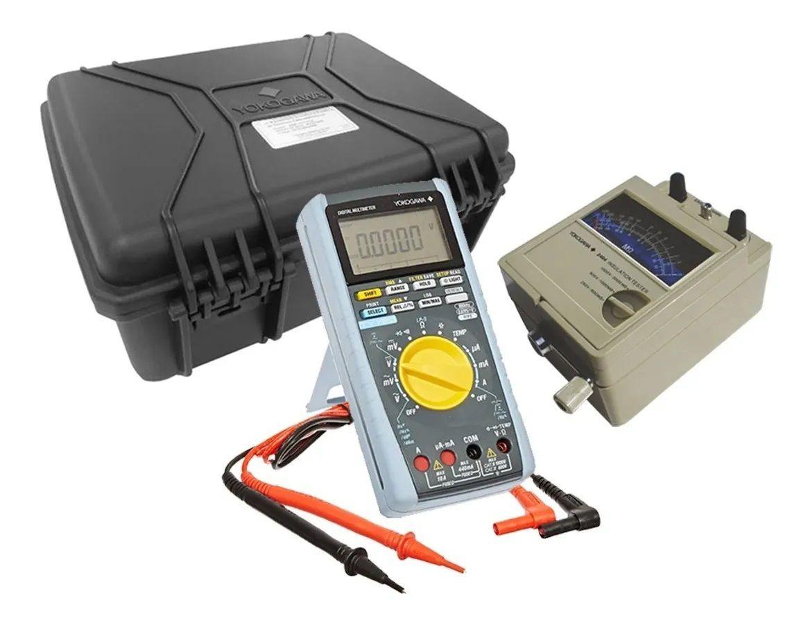 Multímetro digital com Megohmetro analógico Yokogawa