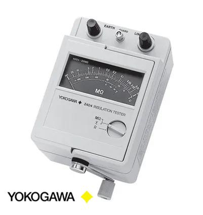 Megohmetro Analógico Yokogawa 2404 -22
