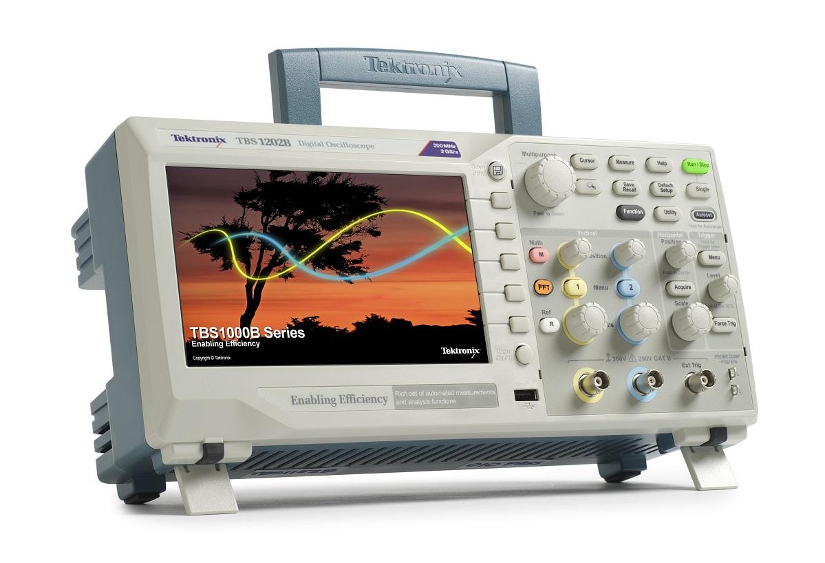 Osciloscópio Digital 200MHz, 2 GS/s, 2 canais - TBS1202B