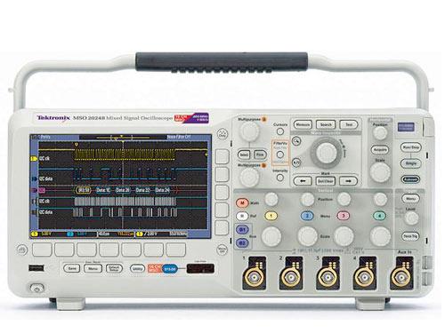 Osciloscópio Digital 4+16 canais, 70Mhz, 1M, 1GS/s - MSO2004B
