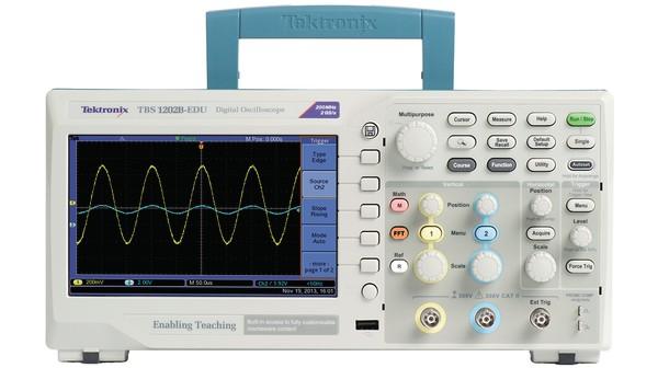 Osciloscópio Digital 50Mhz, 2 canais - TBS1052C