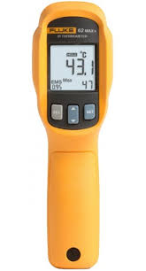 Termômetro infravermelho a laser portátil 62 MAX+