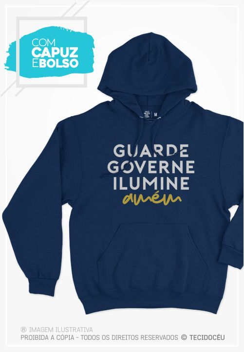 MOLETOM - GUARDE E GOVERNE