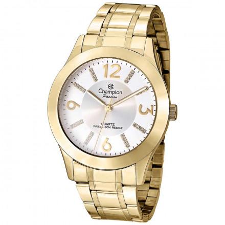 Relógio Champion Feminino Passion Dourado Cn29418h