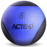Medicine Ball 6Kg Azul T106 Acte Sports