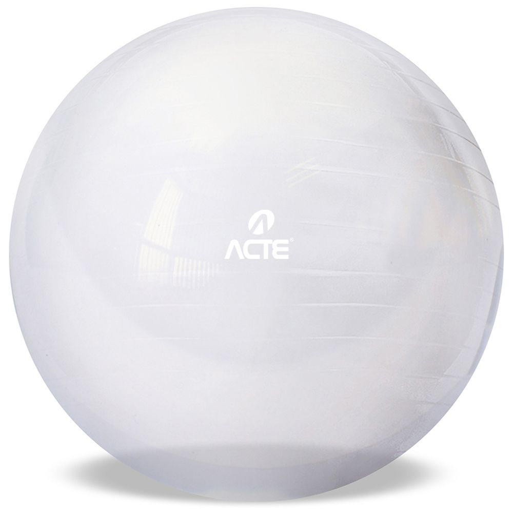 Bola de Pilates Ginastica Gym Ball T9-T  65cm Transparente Acte Sports