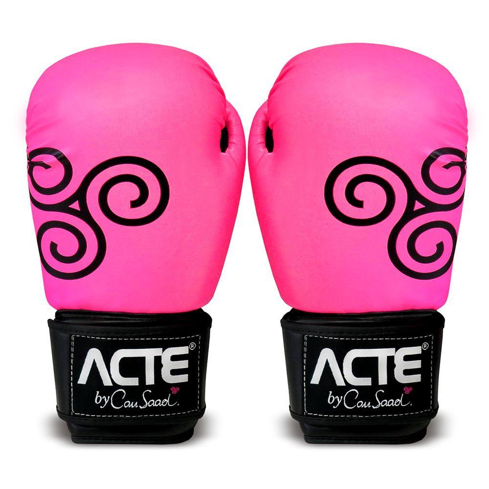 Luvas de Boxe Rosa by Cau Saad CAU16 Acte Sports