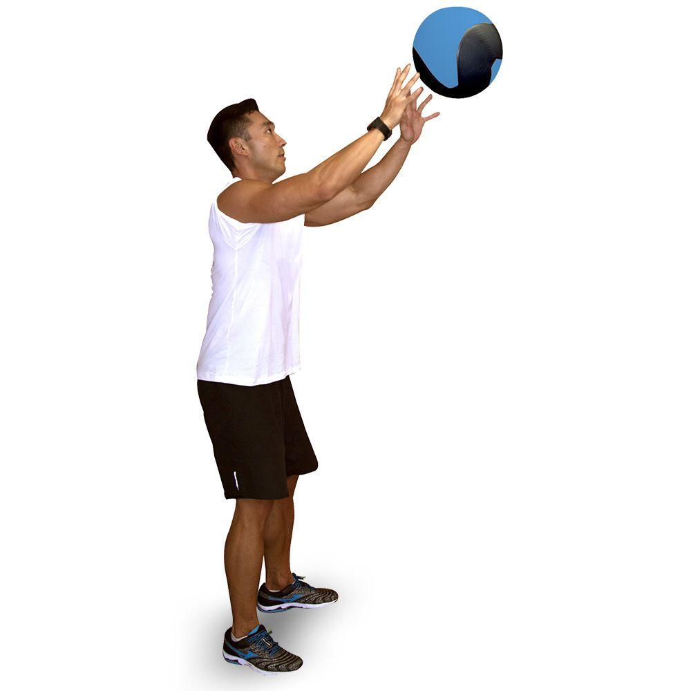 Medicine Ball 4Kg Azul T104 Acte Sports