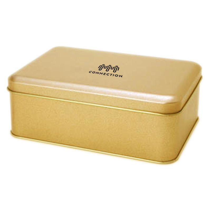 10,9 x 15,3 x 5,5cm Lata Dourada - Ref.0010955
