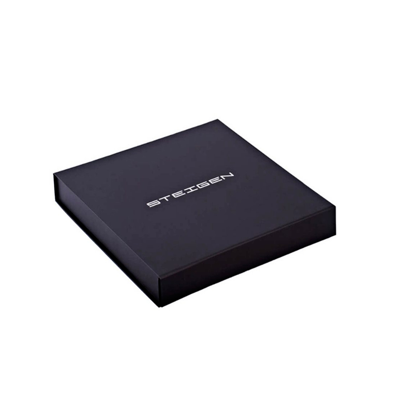 10 x 10 x 2.5cm - Preta - Premium Magnética  - REF.020020