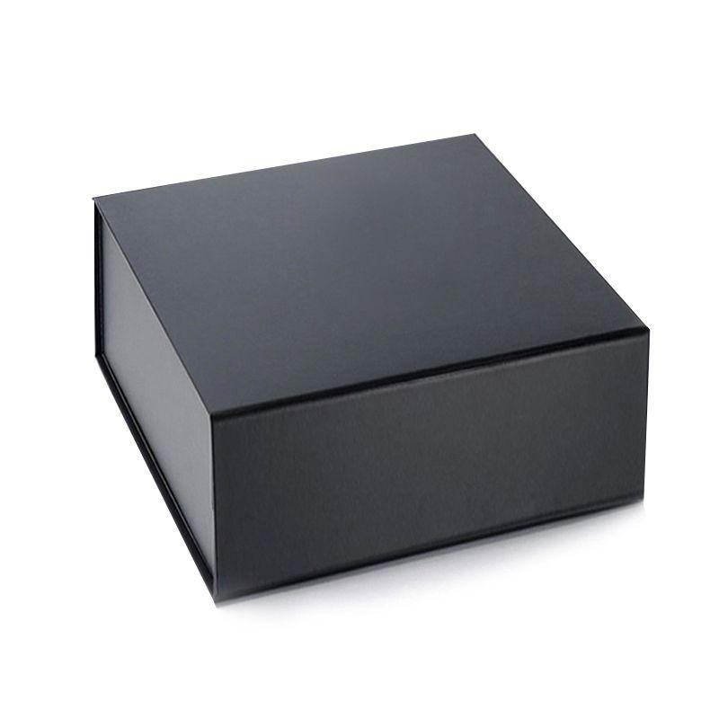 10 x 10 x 5cm - Caixa Premium Magnética Preta - REF.020030