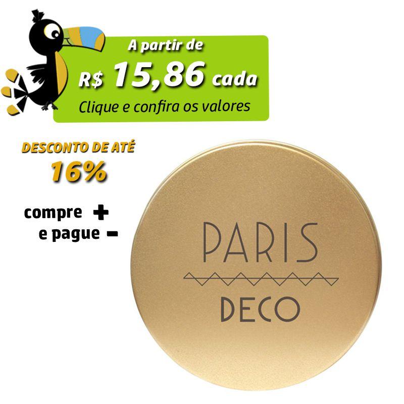 10 x 14,6cm - Lata Dourada - REF.0010970