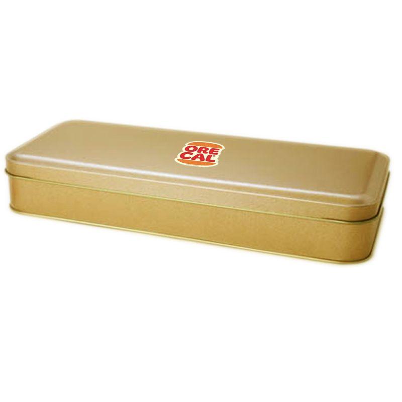 11 x 25,9 x 4,4cm - Lata Dourada - REF.0010956