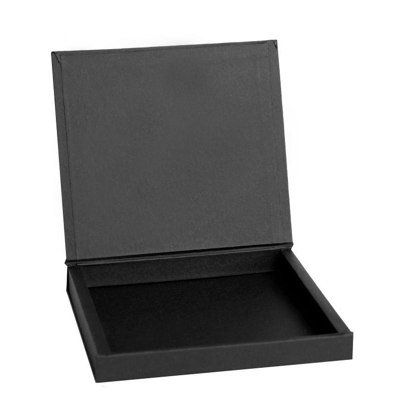 14,5 x 14,5 x 2cm - Caixa Premium Preta - Ref.025050