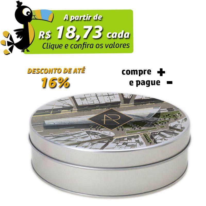 15,5 x 4,5cm - Lata Prata - REF.0010917