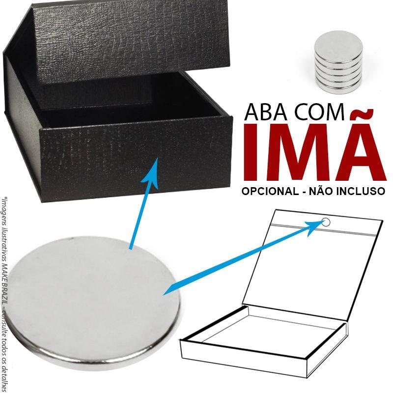 16,5 x 16,5 x 4cm - Caixa Rígida Fold - REF.0105010