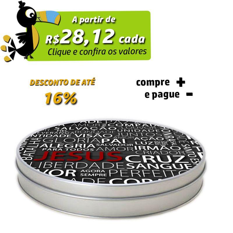 21,5 x 4cm - Lata Prata - REF.0010937