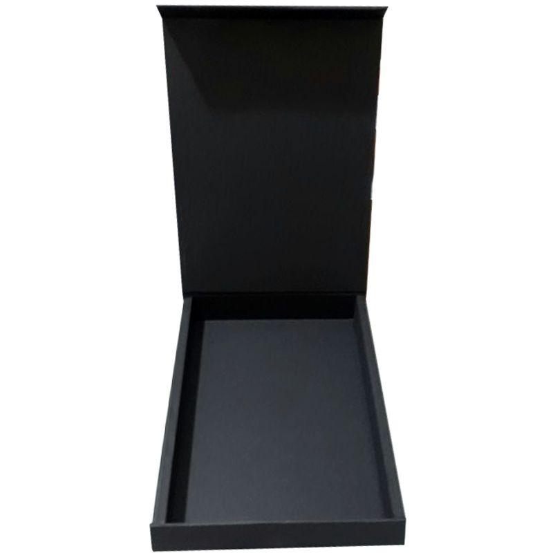 22 x 31 x 3,5cm - A4 - Preta - PREMIUM MAGNÉTICA - REF.020140