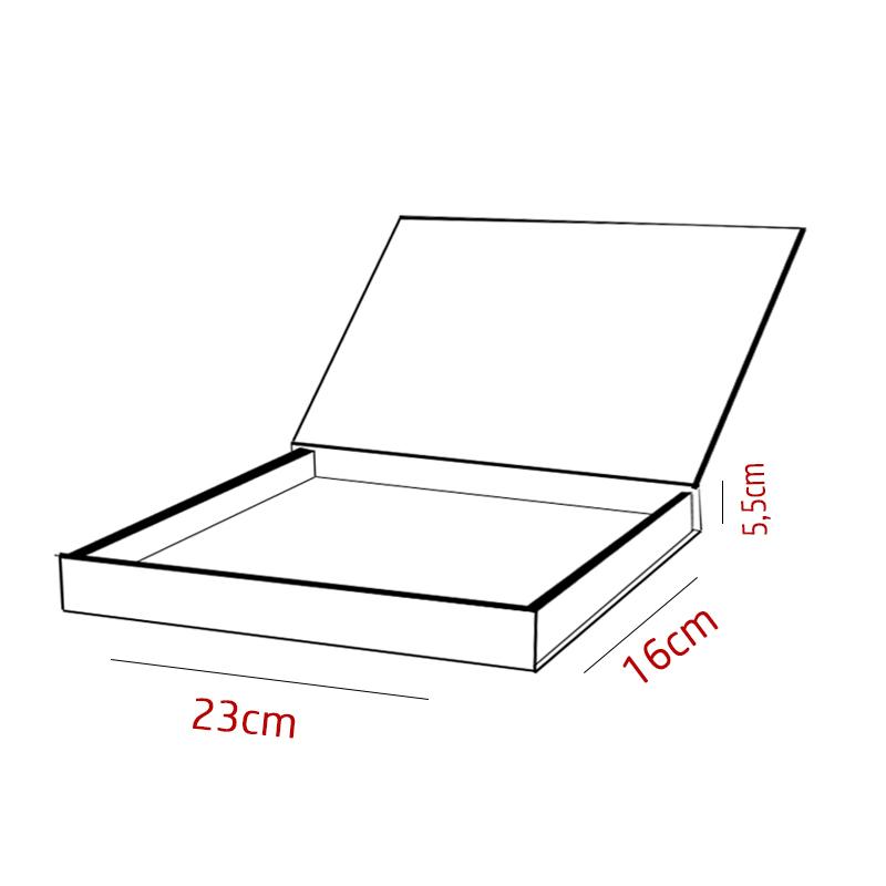 23 x 16 x 5,5cm - Branca - PREMIUM - REF.025151 - A PARTIR DE