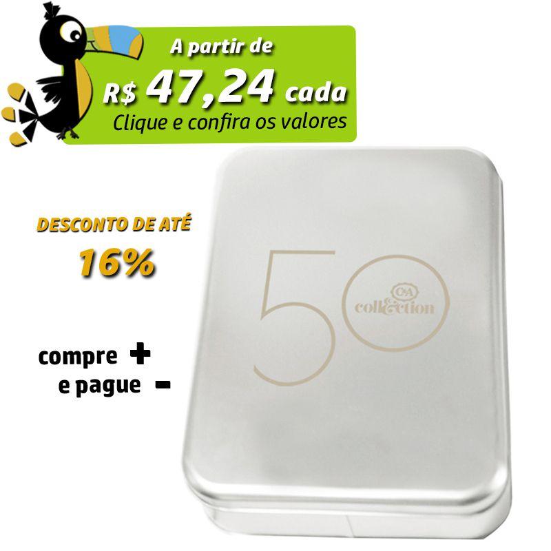 24,6 x 34,9 x 5,5cm - Lata Prata - REF.0010896