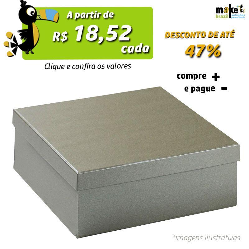 26,5 x 26,5  x 7cm - Caixa Tradicional Color - Ref.029112