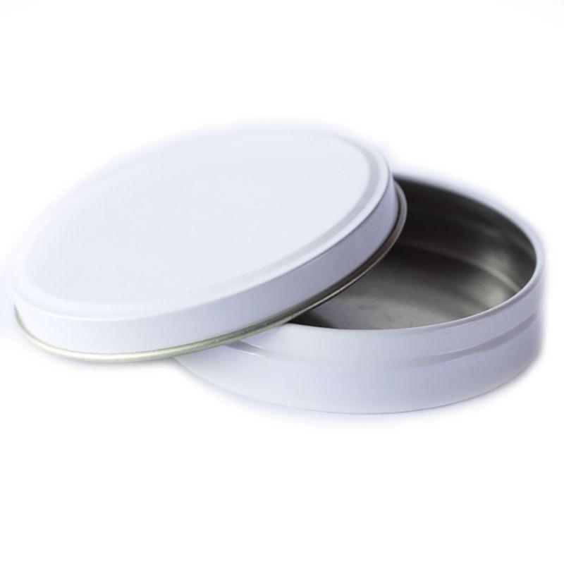 7 x 1,5cm - Lata Branca - Ref.0011705