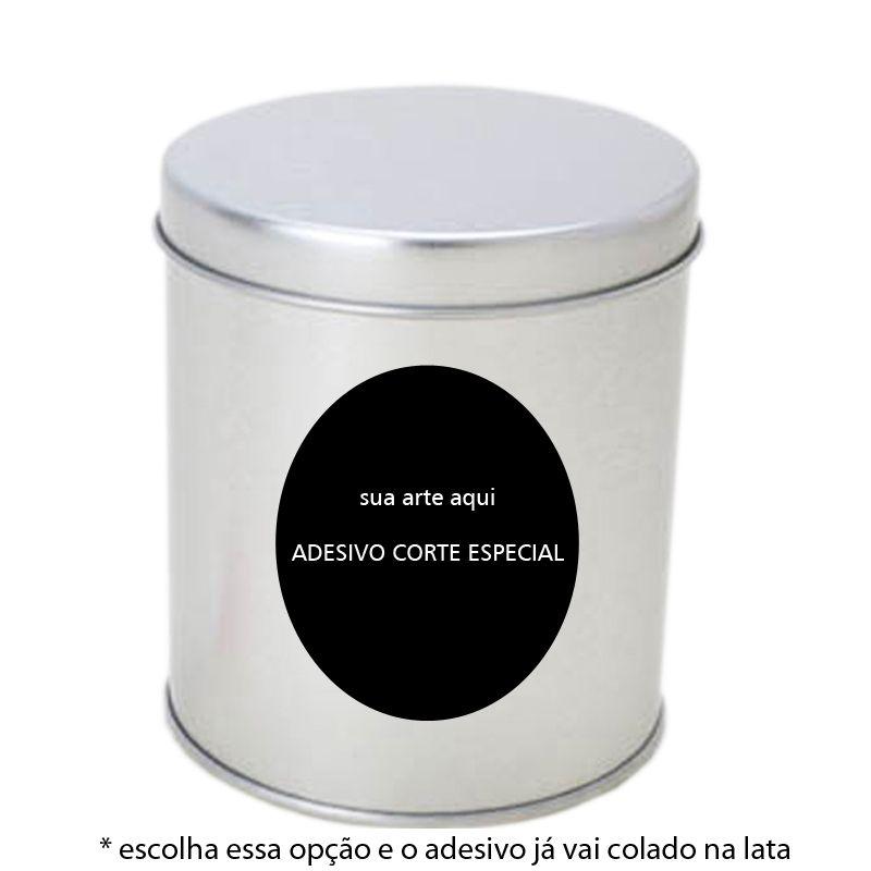 8,5 x 9,5cm - Lata Prata - Ref.0010905