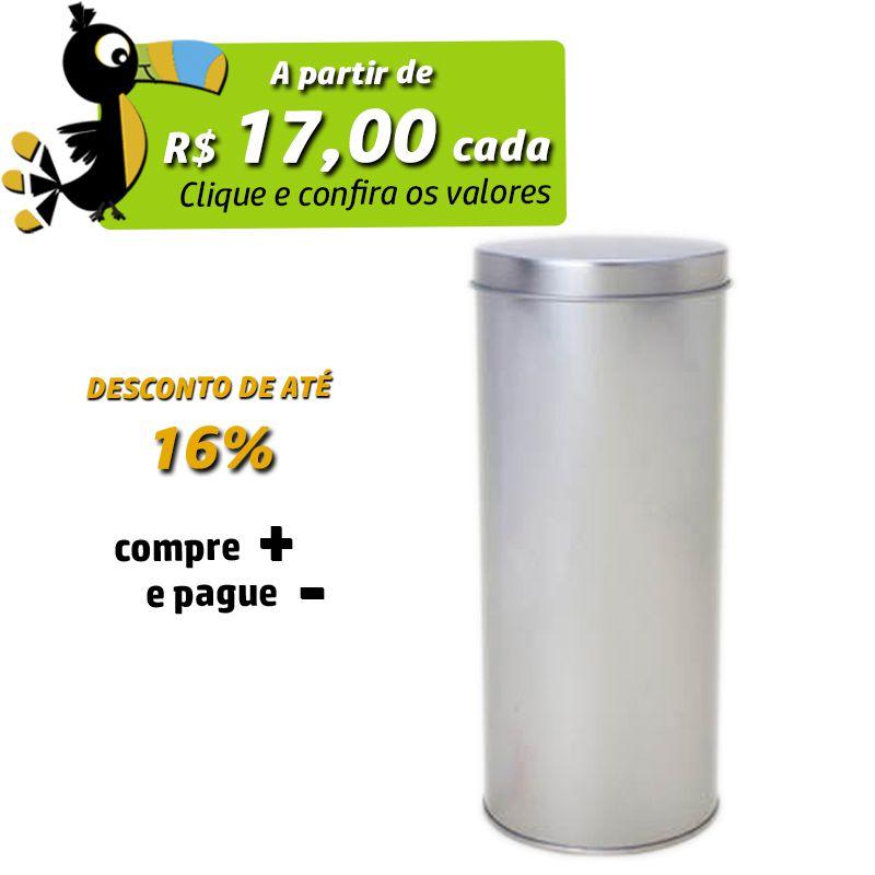 9,2 x 21,5cm - Lata Prata - REF.0010906