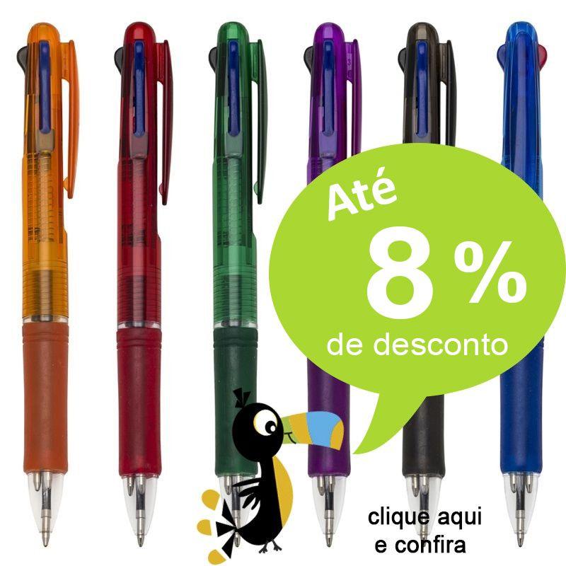 Araraquara - Caneta 3 Cores - Ref.0028560