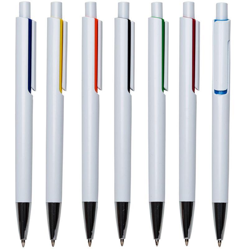 Barueri - Caneta Branca Detalhe Color - Ref.0028450 - A partir de
