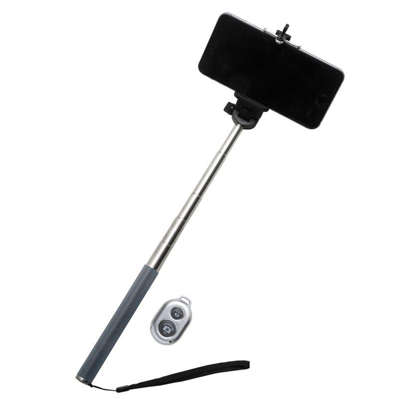 Bastão de Selfie emborrachado colorido - Bluetooth - REF.0025040