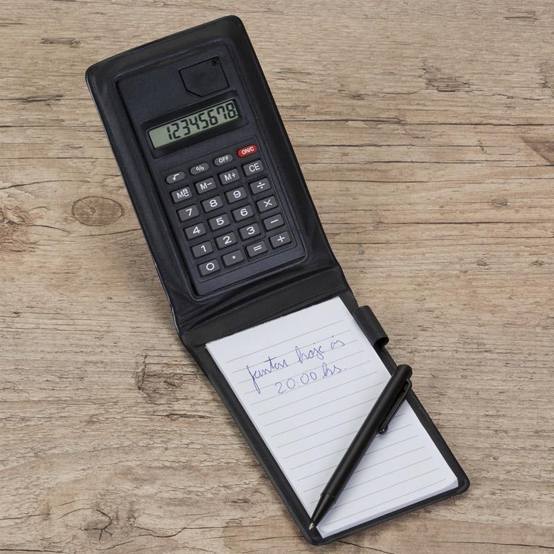 Bloco de Anotações Calculadora e Caneta - Ref. 0019015